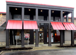 Browse Our Large Commercial Awning Photo Gallery For Ideas And Contact Us A Free Quote Business Canopy Kentucky