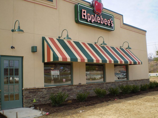 Business Fabric Awning