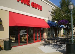Fast Food Business Awning