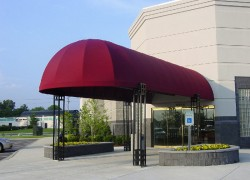 Commercial Entrance Canopy