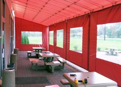 Restaurant Patio Curtains