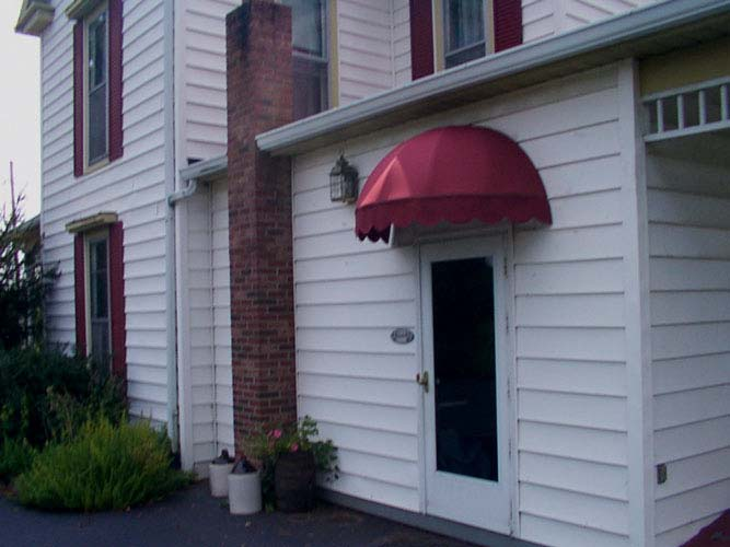 res_back_door_dome | (502) 634-1877 | Bluegrass Awning Company